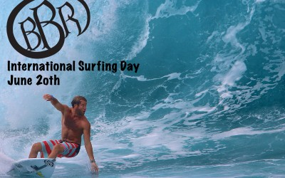 International Surfing Day, June 20th.  How will you spend it?